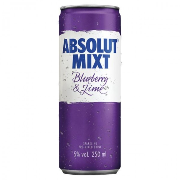 Absolut Mixt Bluebeery & Lime